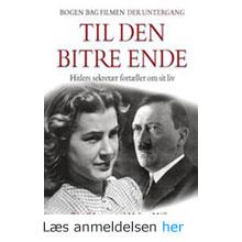 Traudl Junge - sekretær for Hitler
