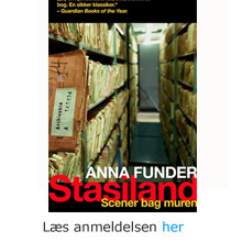 Anna Funder: STASIland